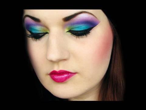 Fashion Colorful Makeup