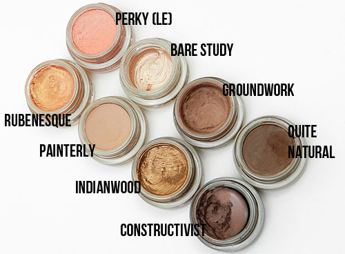 Different ways to use MAC paint pots