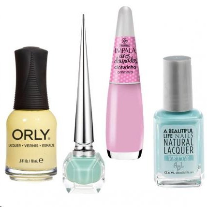 Fashionable Nail Polishes to Wear This Spring
