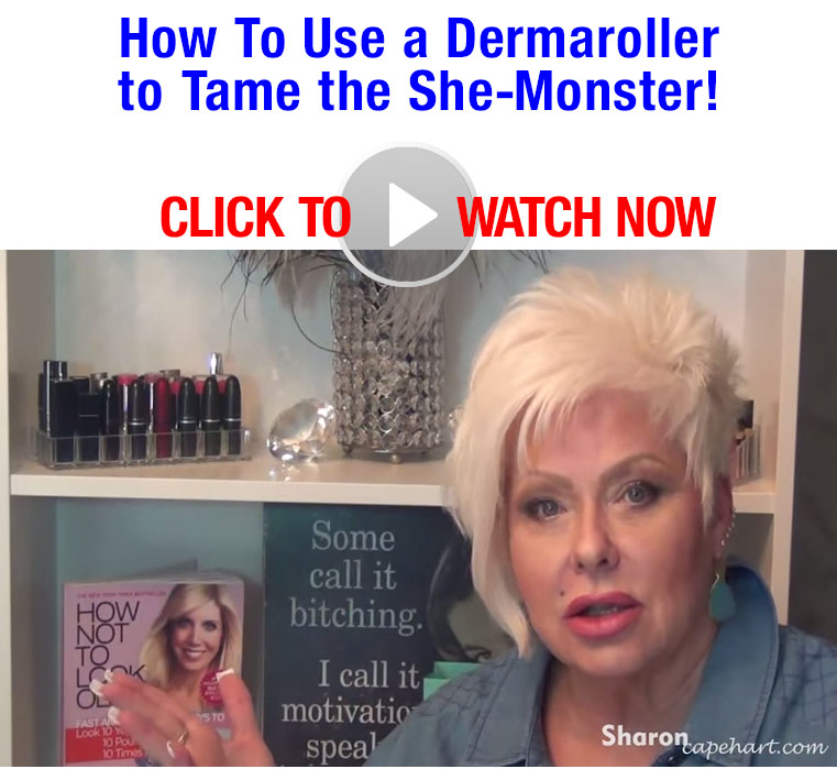 How To Use a Dermaroller to Tame the She-Monster! [Video]