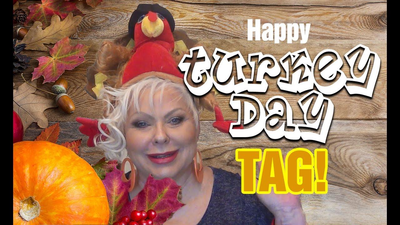 Happy Turkey Day Tag!