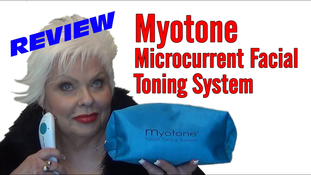 Myotone Microcurrent Facial Toning System Review & Demo/Giveaway