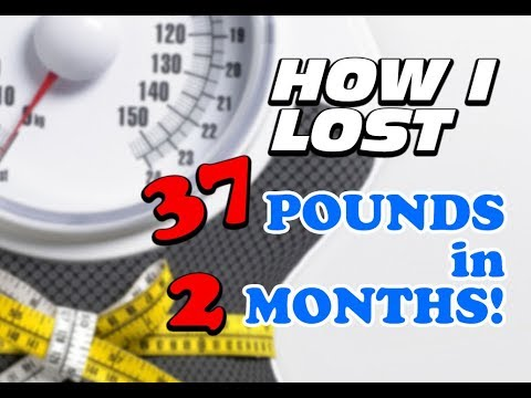 How I Lost 37 Pounds in 2 Months!