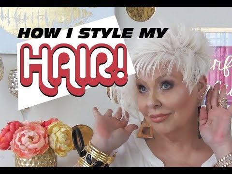 How I Style My Hair