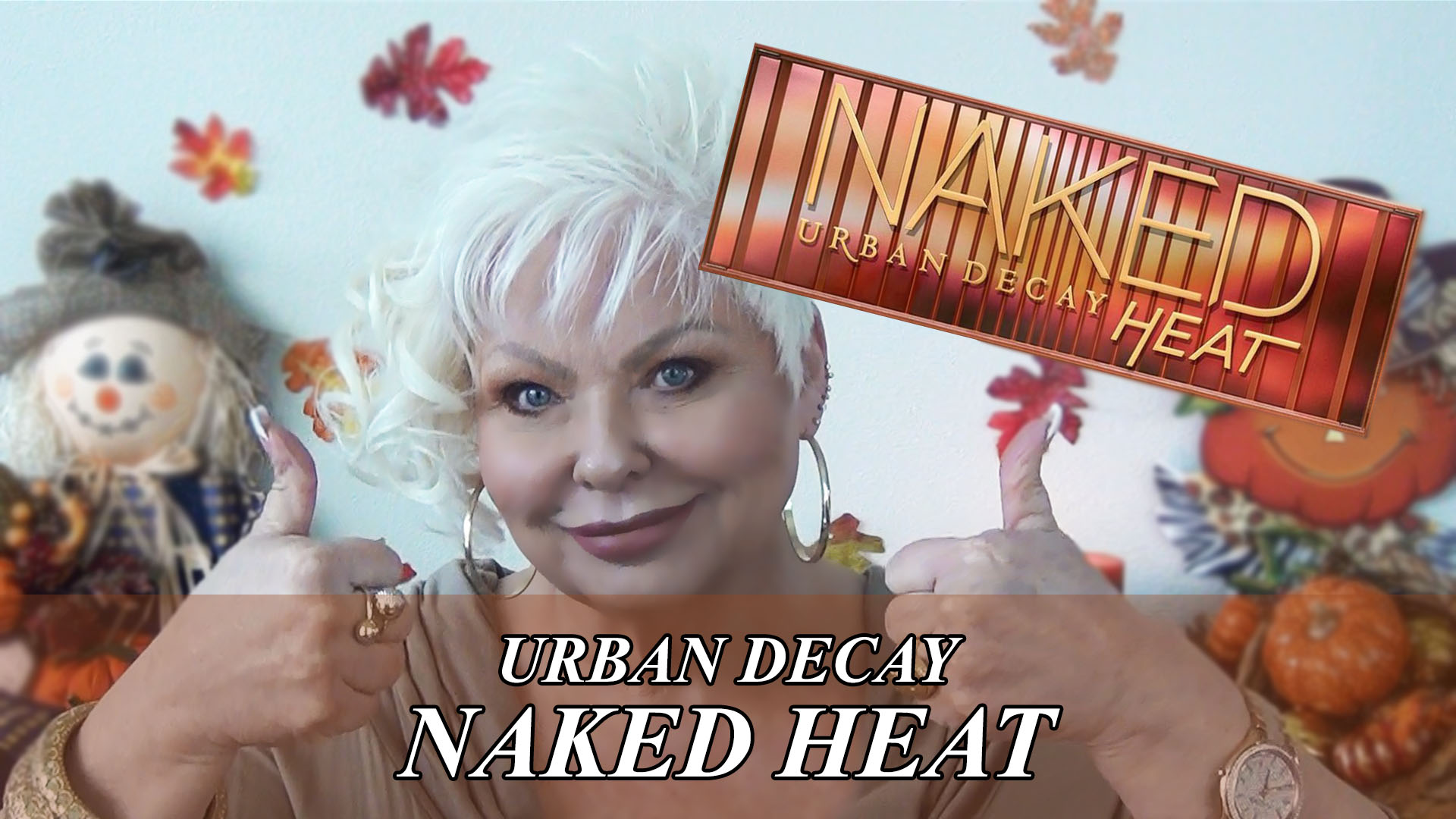 GRWM: Urban Decay Naked Heat Palette