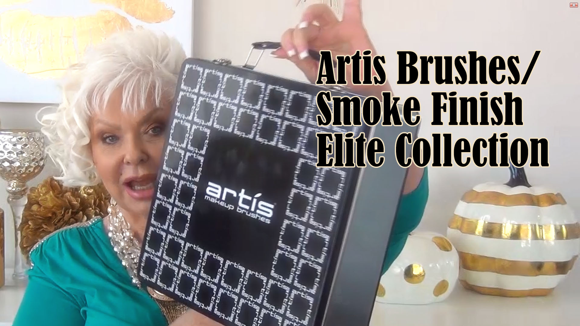 My Review of Artis Brushes/Smoke Finish Elite Collection