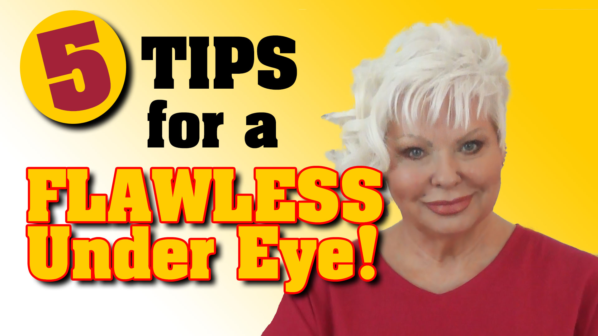 5 Tips for a FLAWLESS Under-Eye!