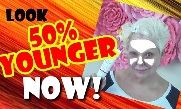 QUICK BEAUTY TRICK: LOOK 50% YOUNGER NOW!
