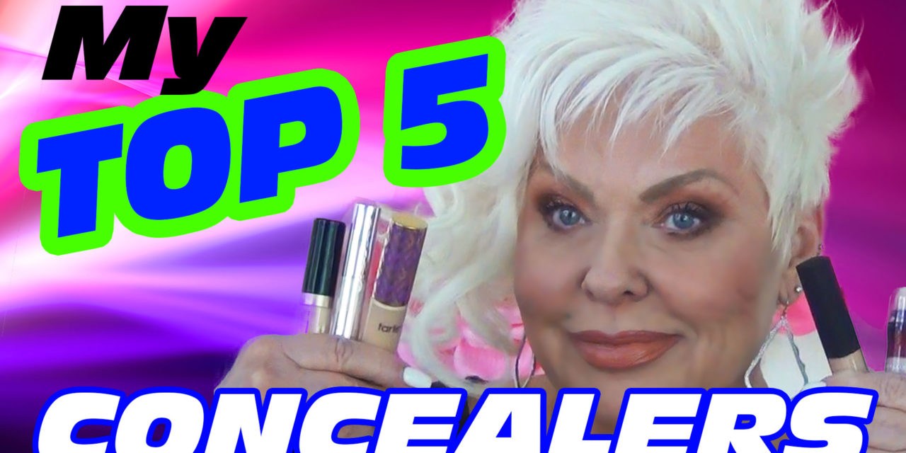 My Top 5 Concealers for Mature Women! / Mature Beauty 40+ 50+