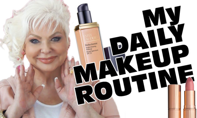 My Daily Makeup Routine / Mature Beauty
