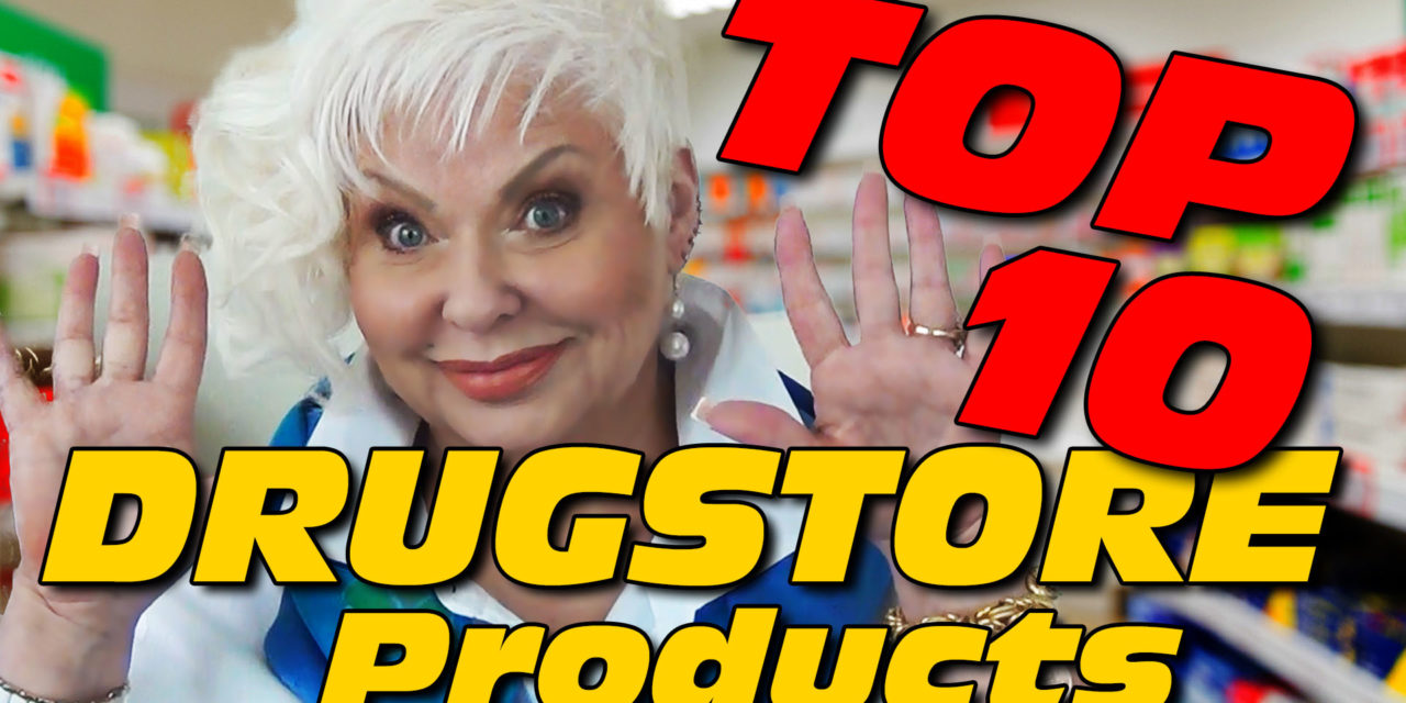 Top Ten Drugstore Products – Over 50++ with Nathalie the Beauty Diva!