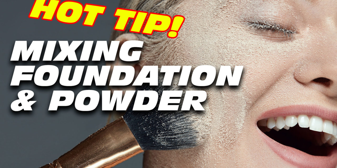 Use Foundation & Powder Together for a Hot Look! [Video]