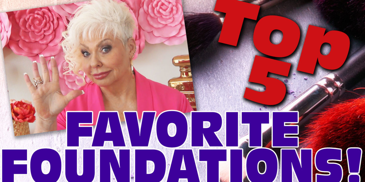 Top 5 Favorite Foundations / with Natasha Summer