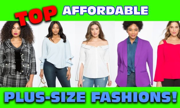 My Favorite Affordable Plus-Size Fashions April 2018